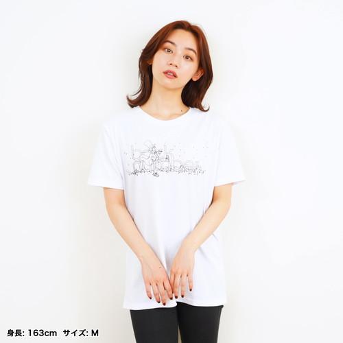 怪盗Tシャツ/ホワイト