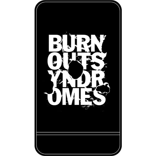 【BURNOUT SYNDROMES】SUMMER 2018 SPECIAL EDITION -BURN- モバイルバッテリー