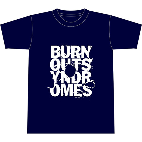 【BURNOUT SYNDROMES】SUMMER 2018 SPECIAL EDITION -BURN- Tシャツ/ネイビー