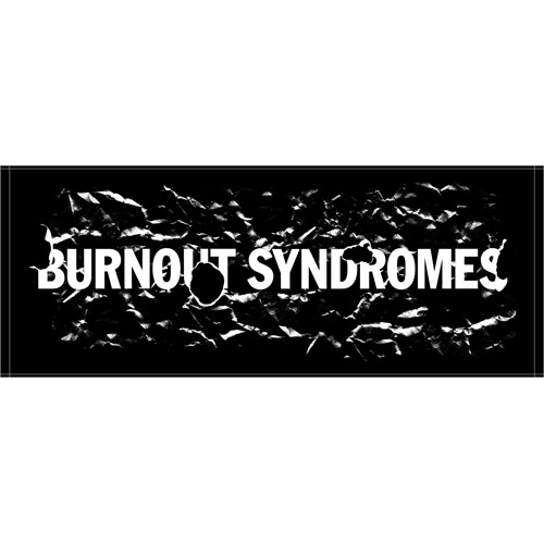【BURNOUT SYNDROMES】SUMMER 2018 SPECIAL EDITION -BURN- フェイスタオル/ブラック