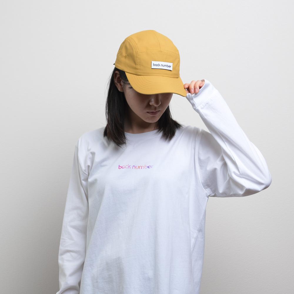back number ジェットキャップ/マスタード