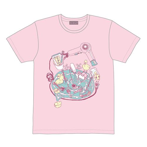 洗面台Tシャツ(フロストピンク)