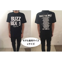 RUDIE'S×BUZZ THE BEARS!BUZZ THE BEST TOUR T-SHIRTS/BLACK