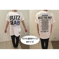 RUDIE'S×BUZZ THE BEARS!BUZZ THE BEST TOUR T-SHIRTS/WHITE