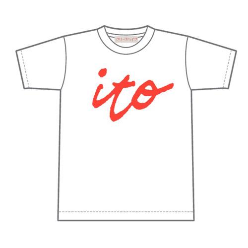 「ito」Tシャツ (ホワイト)