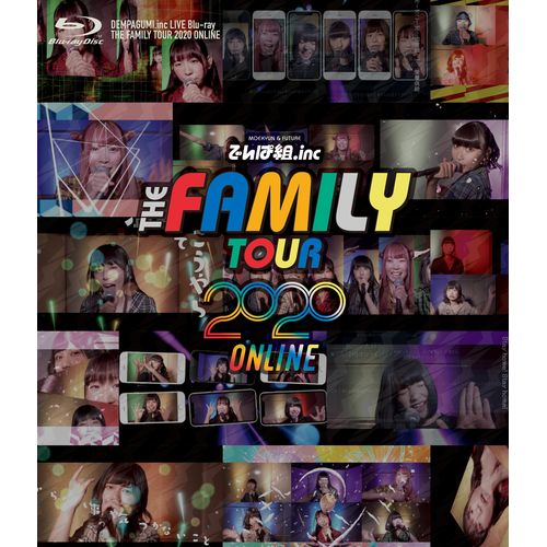 LIVE Blu-ray/DVD 「THE FAMILY TOUR2020 ONLINE」  Blu-ray