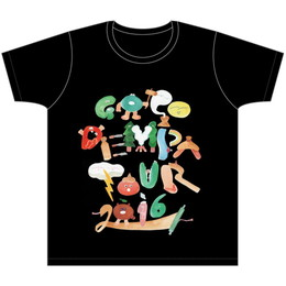 【GOGO DEMPA TOUR2016】Tシャツ 黒