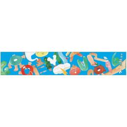 【GOGO DEMPA TOUR2016】デジタルマフラータオル 水色