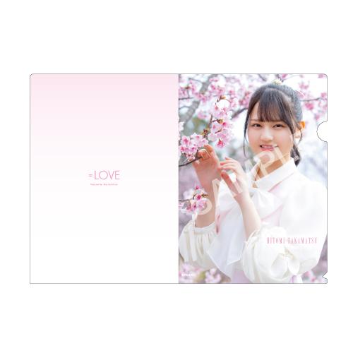 ランダムクリアファイル(「桜の咲く音がした」衣装)