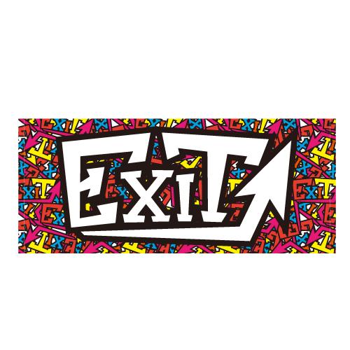 EXITロゴタオル(ロゴ)
