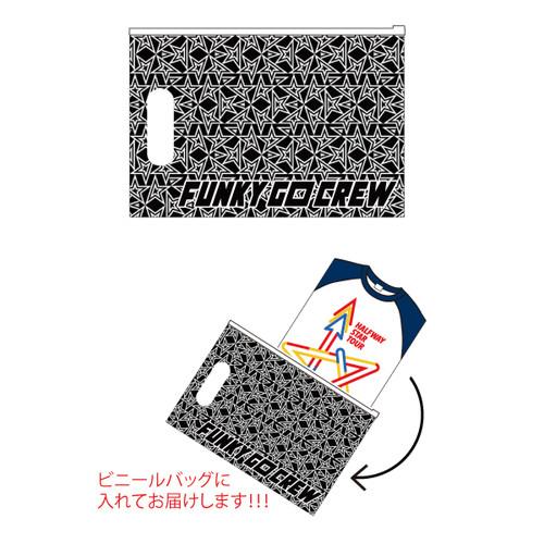 HALFWAY STAR TOUR FUNKY GO CREW限定ラグランTシャツ