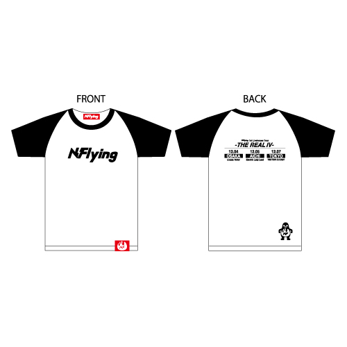 Tシャツ【N.Flying 1st Livehouse Tour】