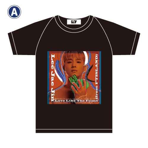 TシャツA(黒)【LEE JAE JIN (from FTISLAND) 1st Solo Mini Live Tour】
