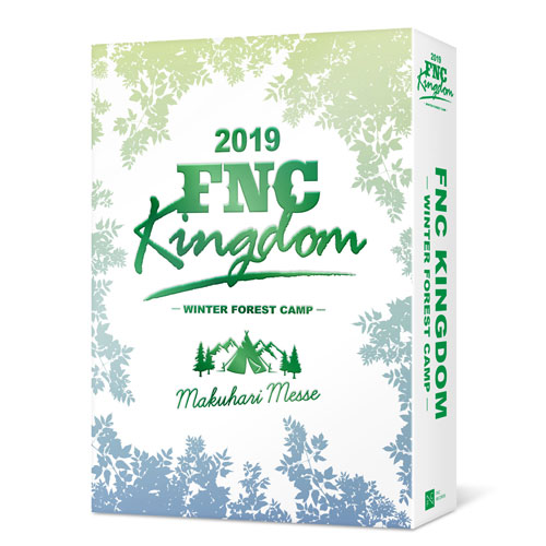 「2019 FNC KINGDOM -WINTER FOREST CAMP-」【通常盤DVD】