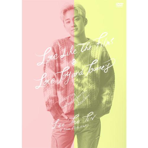 LEE JAE JIN (from FTISLAND) 『Love Like The Films & Love, Joy and Journey』【Primadonna盤】