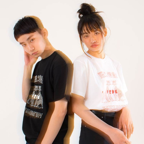 飄々情動Tシャツ/ブラック
