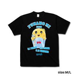 274ch.ふなのミ2018 Tシャツ (ブラック)