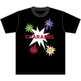 CHARAMEL Tシャツ(ビリビリ/ブラック)