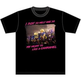 CHARAMEL Tシャツ(LIVE photo/ブラック)
