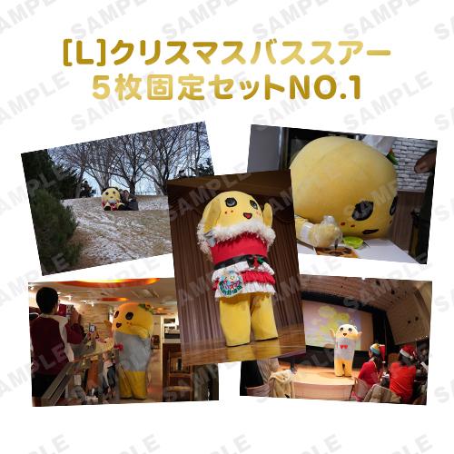 【274ch.会員限定】バスツアーふなっしー旅の想い出写真 L版5枚固定セットNO.1