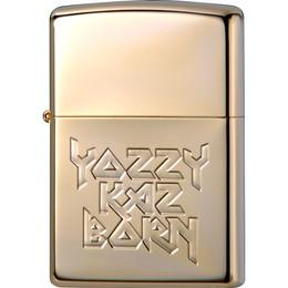 吉井和哉 オリジナルデザイン Zippo YOZZY KAZBORN[GOLD]【受注限定生産品】