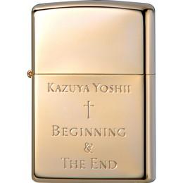 吉井和哉 オリジナルデザイン Zippo Beginning & The End[GOLD]【受注限定生産品】