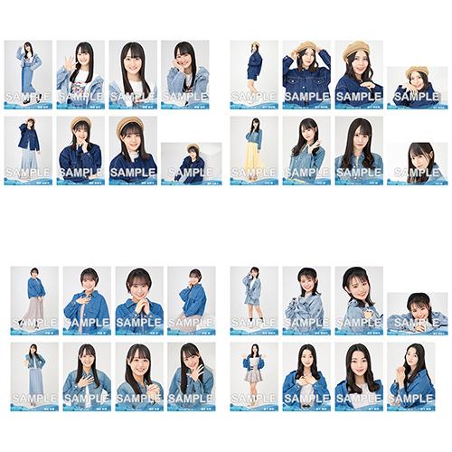 【ネコポス便】STU48 2021年6月度netshop限定ランダム生写真5枚セット