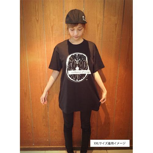 ミユキの断面図 Tシャツ【ブラック】