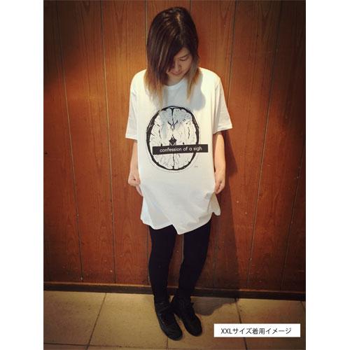 ミユキの断面図 Tシャツ【ホワイト】