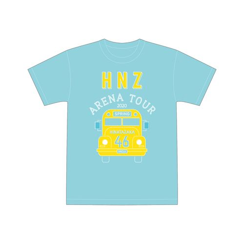【通常配送】春の全国アリーナツアー2020 Tシャツ/サックス