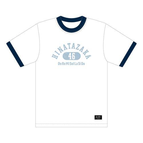 【通常配送】日向坂46 リンガーTシャツ/ホワイト