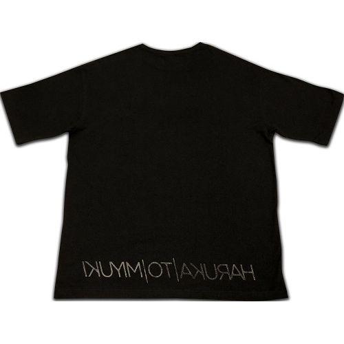 LOGO ビッグシルエット Tシャツ 【Black】