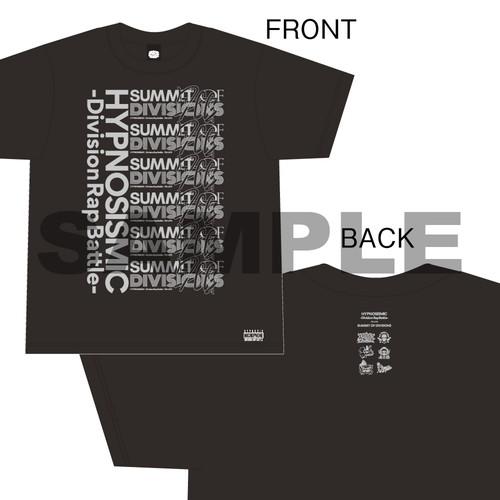 SUMMIT OF DIVISIONS Tシャツ(BLACK)【Sサイズ】[ヒプノシスマイク7thLIVE]