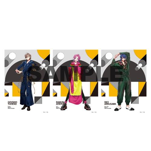 ブロマイドセット(Extra Wardrobe02) シブヤ・ディビジョン/Fling Posse