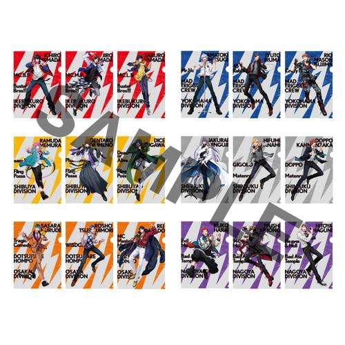 トレーディングミニクリアファイル(2nd D.R.B)【ヒプノシスマイク 6th LIVE】