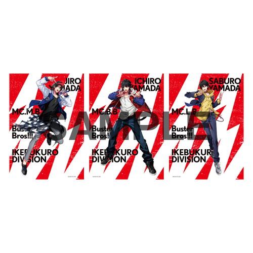 ブロマイドセット(2nd D.R.B) イケブクロ・ディビジョン/Buster Bros!!!【ヒプノシスマイク 6th LIVE】