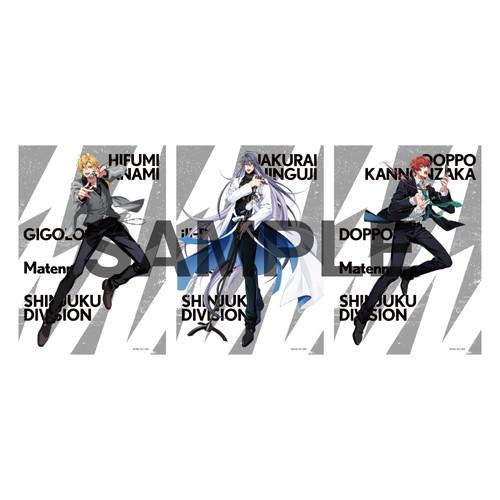 ブロマイドセット(2nd D.R.B) シンジュク・ディビジョン/麻天狼【ヒプノシスマイク 6th LIVE】