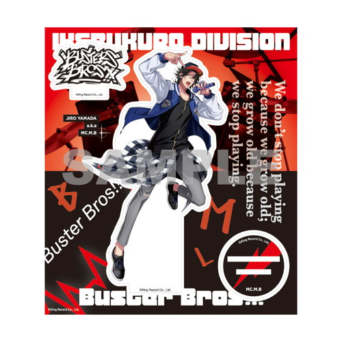 オフィシャルアクリルスタンド(2nd D.R.B)山田 二郎【ヒプノシスマイク 6th LIVE】