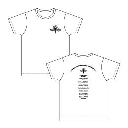 """~20th Birthday """"JUKE BOX"""" Tour~ ツアーTシャツ/ホワイト"""