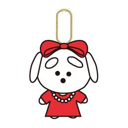 "~20th Birthday ""JUKE BOX"" Tour~マスコットキーホルダー/いぬうえさん(パーティーver)"