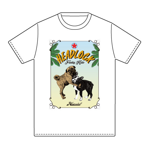 ファンキー加藤×Haoming HEADLOCK Tシャツ