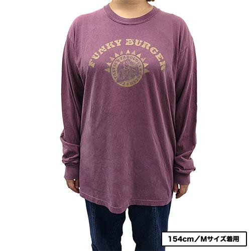 ファンキー加藤プロデュース FUNKY BURGER ロングスリーブTシャツ