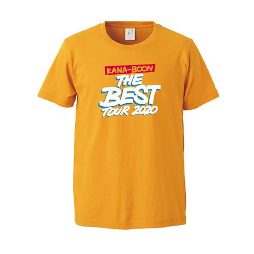 KANA-BOON THE BEST TOUR 2020 ロゴTシャツ/ゴールド