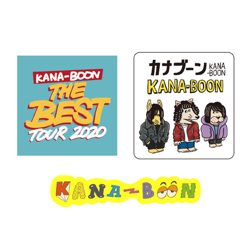 KANA-BOONのステッカーセット