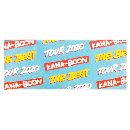 KANA-BOON THE BEST TOUR 2020 ロゴタオル