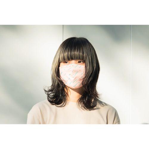 KANA-BOONのおしゃれマスク/ブラック