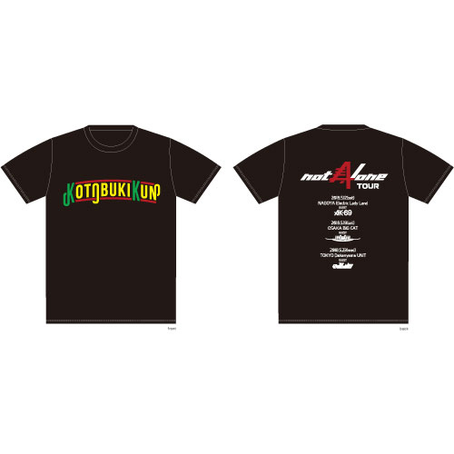 not Alone TOUR  T-shirts