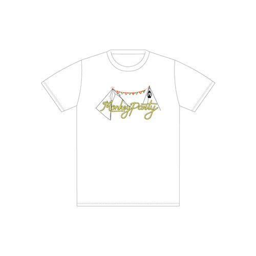 Monkey Party オリジナル刺繍Tシャツ -Monkey Camp会員様限定グッズ-