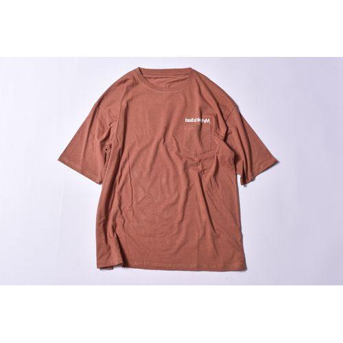 サンライズポケットTシャツ / ブラウン