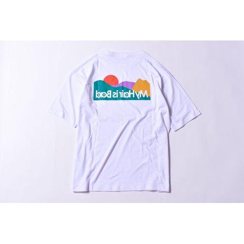 サンライズポケットTシャツ / 白